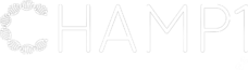 Champ 1 Research Foundation White Logo